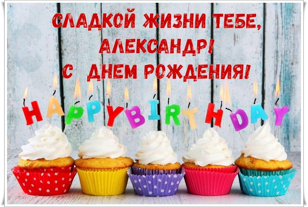 Прикольные картинки александру с днем рождения