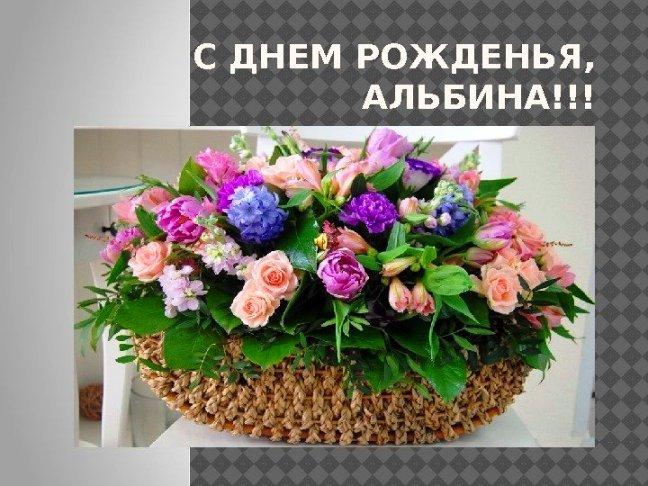 С днем рождения альбина картинки красивые, картинки надписями как