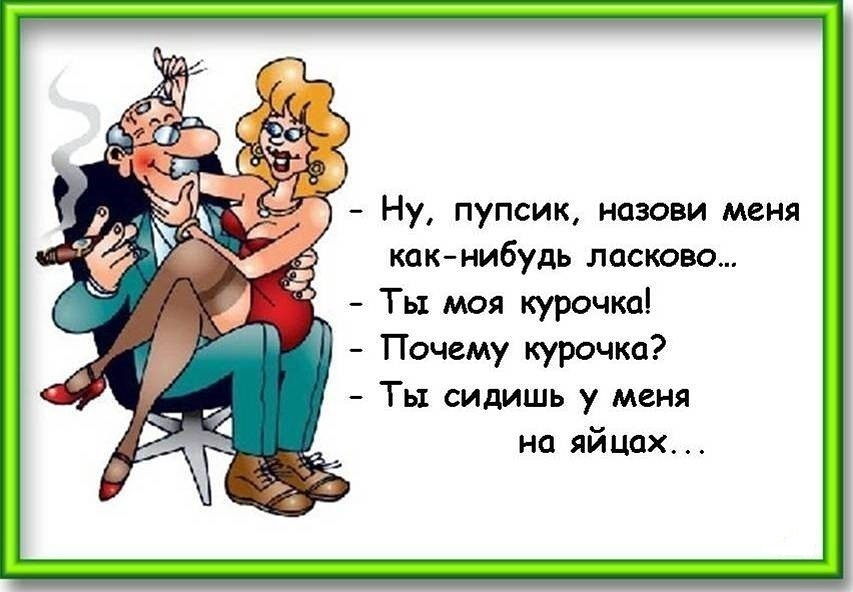 Смешные картинку про мужа и жену
