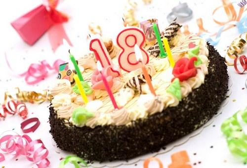картинки с днём рождения 18 лет девушке