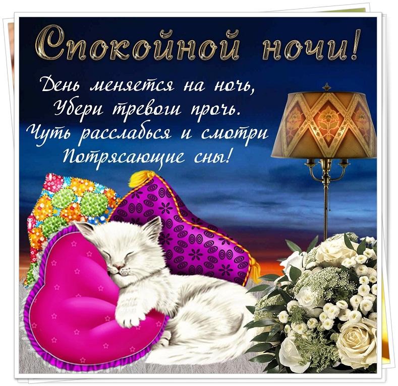 Челентано, поздравления спокойной ночи с картинками