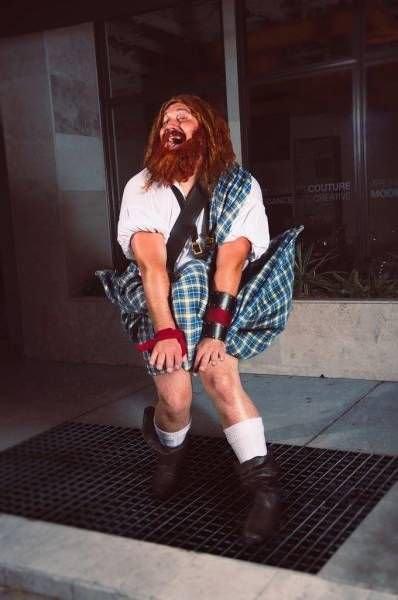 Шотландец в килте - Мерлин Монро