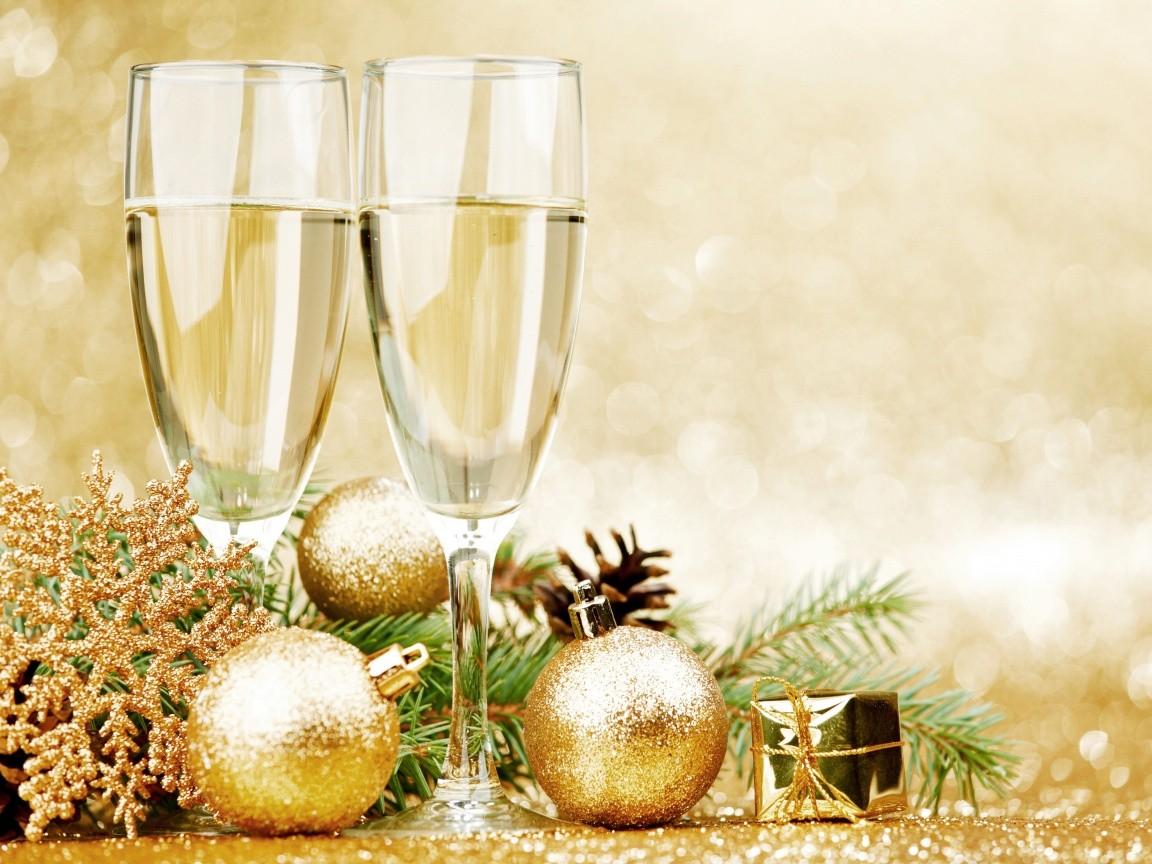Новогодние поздравления по сайту