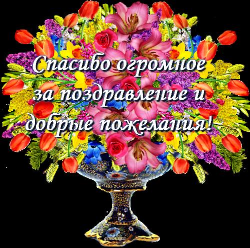 Слова благодарности за поздравления ко дню рождения
