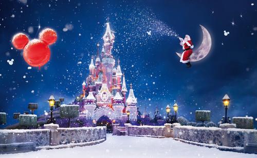 Дисней, Микки Маус, Санта Клаус, обои 1 999px × 1 234px
