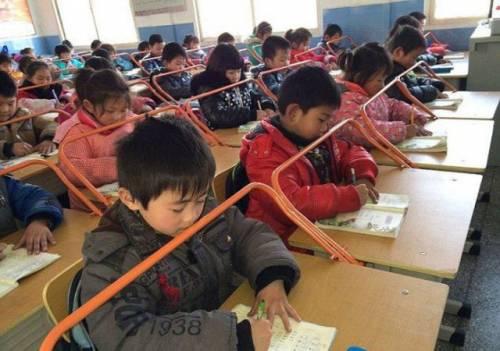Борьба с близорукостью и неправильной осанкой у детей в Китае