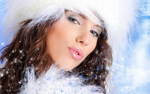 Снежная новогодняя королева, обои 1920px × 1200px