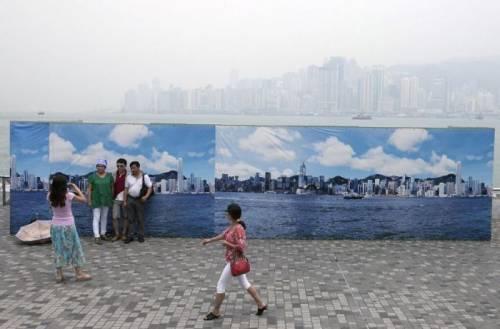 Смог в Китае - это проблема. Но не для китайских туристов
