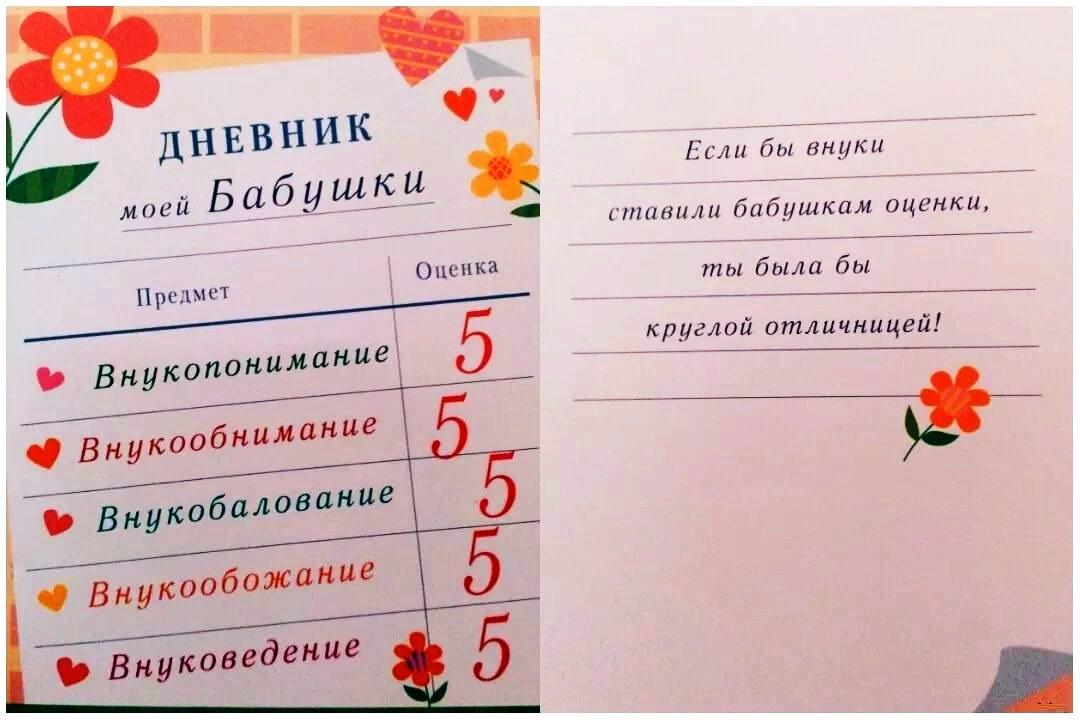 Идеи открытки бабушке на день рождения