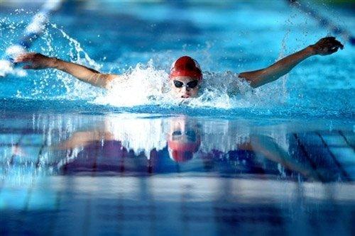 Картинки про плавание в бассейне прикольные